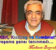 Mehmet Bayrak: 'Kürt, Kızılbaş ve Komünist'e yaşama şansı tanınmadı