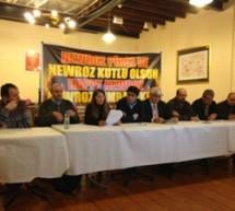 Londra'da Newroz için basın açıklaması yapıldı