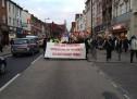 Londra'da 25 Kasım Yürüyüşü