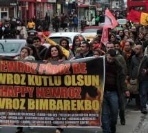 Londra'da Newroz Yürüyüşü