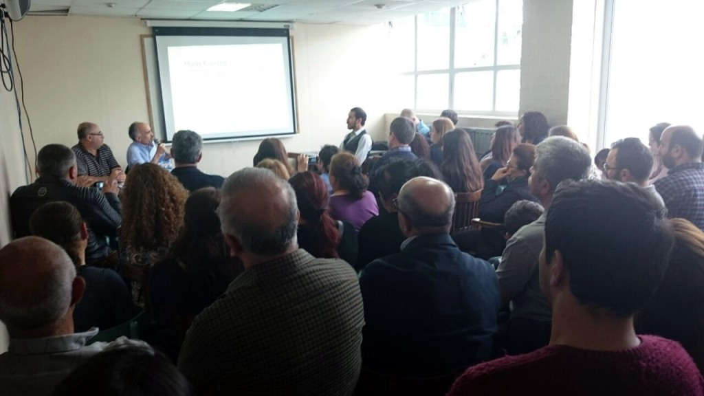 Elbistanlılar Dayanışma Derneği'nde Cumartesi günü yapılan 'Maraş Kürtçesi' konulu panel